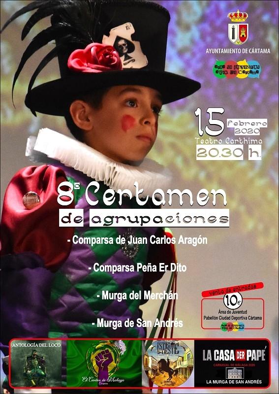 Certamen Agrupaciones Carnaval